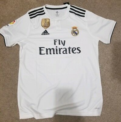 buy popular 4ae25 19b8c GARETH BALE REAL Madrid Soccer Jersey - Size M