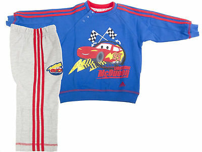 Adidas Infant Kids Tracksuit New Disney Pixar Lightning McQueen Full Set O05273