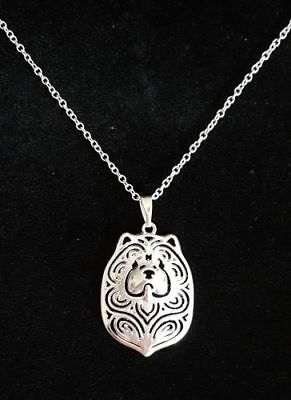 Chow Chow Dog Cute necklace 18""
