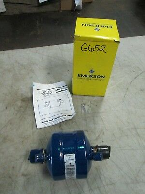"Emerson Suction Line Filter Drier SFD 13 S 7-VV Inlet/Outlet 7/8"" ODF (NIB)"