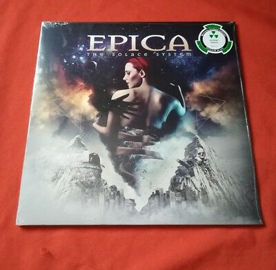 EPICA - The Solace System / Gatefold / Black Vinyl LP - NEU & OVP