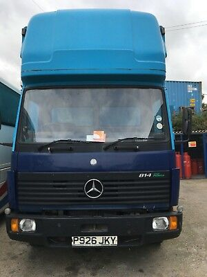 7.5 tonnes Mercedes Removal Lorry