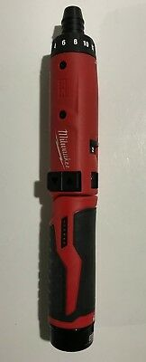 Milwaukee M4 Power Screwdriver, Excellent Cosmetic and Working Condition!