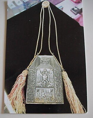 Antique German Dance Card Holder, Compact,