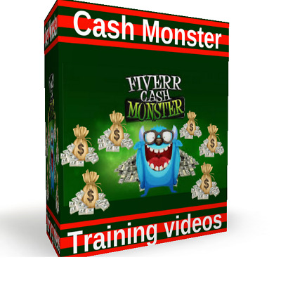 Work From Home Business, Earn Make Money with Fiverr Cash Monster System on DVD
