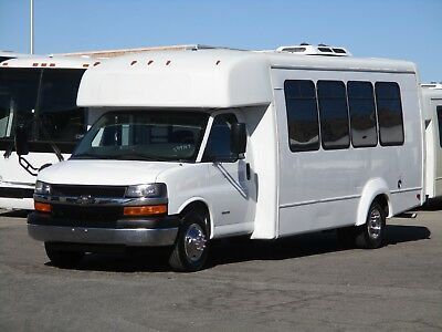 2012 Elkhart Coach ECII Shuttle Bus w/ New Upholstery! Large A/C and Rear Lugg.