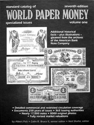 Standard Catalog of World Paper Money - Specialized Issues 7th Ed