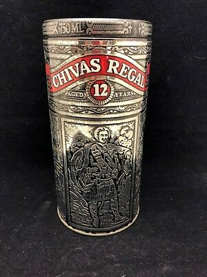 Vintage Chivas Regal Collectible Embossed Tin