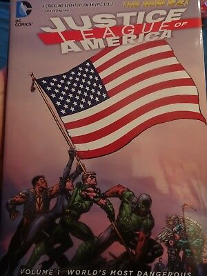 Justice Leage of America Volume 1 New 52 Hardcover Graphic Novel