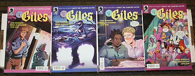 Dark Horse Buffy the Vampire Slayer Giles #1-4 COMPLETE SET - ALL B Covers  1sts