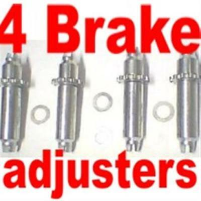 All 4 brake shoe adjusters Cadillac 1961 1962 1963 1964 1965 1966 1967 1968
