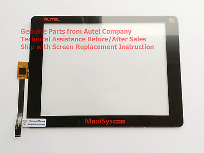 Touch Screen Panel (V1 version) for Autel MaxiSys MS906TS + Replace Instruction