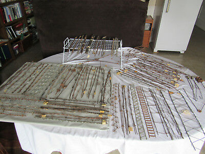 Authentic Antique Vintage Large Lot of 137 Barb Barbed Wire & Rods 1800's Metal