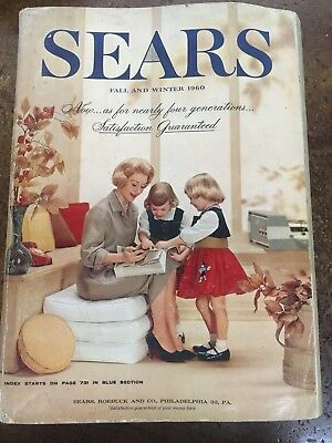 1960 Sears Roebuck & Co. Catalog Fall & Winter
