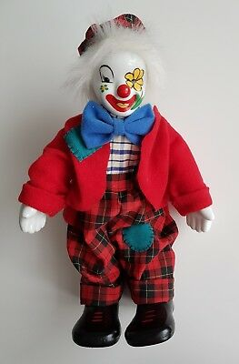 NEU Clown Puppe Clownspuppe Clown Figur