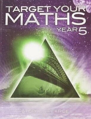 Target Your Maths Year 5 by Stephen Pearce New Paperback Book