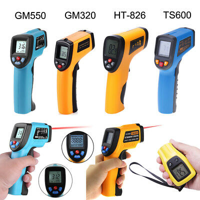 Digital LCD Non-contact Infrared IR Thermometer Temperature Meter Laser Gun  A#S