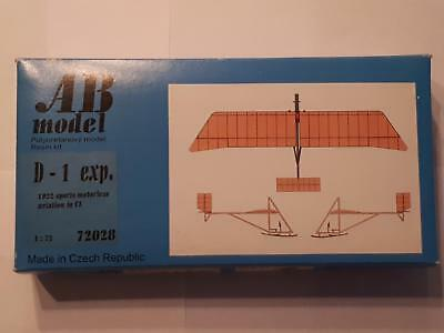 AB Model 72028 D-1 experience 1922 Sports Motorless Aircraft Resin Schulgleiter