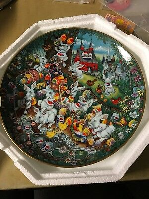 1995 Franklin Mint Pepsi Cola Easter Greetings by Bill Bell Collectible Plate