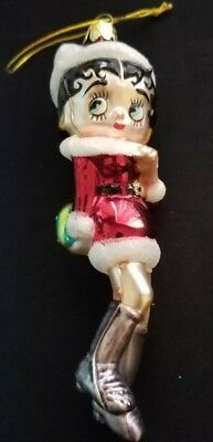 Betty Boop standing Christmas ornament by Kurt Adler