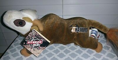 "Breyer PBR Bull Hammer Plush Display Excellent Collectors RARE NWT 10"" Rodeo"