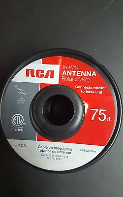 RCA(R) VH127R Antenna Rotator Cable 75Ft.
