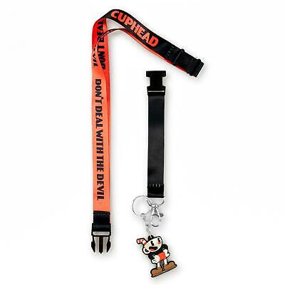 Cuphead Collectibles | Cuphead Don't Deal with the Devil Exclusive Lanyard