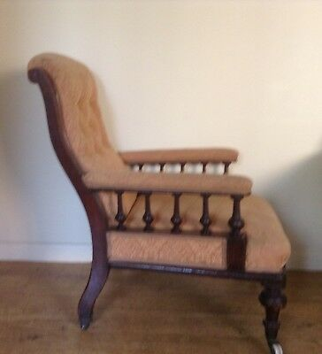 VINTAGE/ANTIQUE ARMCHAIR - Good Solid Condition