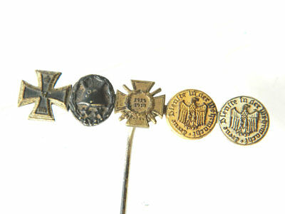 WWI MINIATURE MEDALS Military Orders Iron Cross Germany/Austria 1914-1918 Lapel
