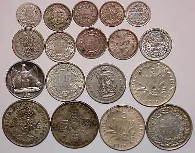 Lot of  world silver coins.                #B-01