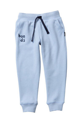 Bonds Baby Kids Cool Sweats Trackie Track Pants sizes 0 2 Colour Light Blue