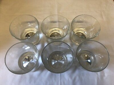 """Set Of 6 Johnny Walker """"Our blend cannot be beat"""" Glasses"""