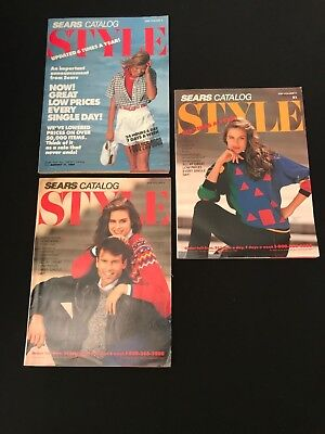 1989 SEARS Style Special Edition Catalog Lot of 3