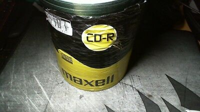 100 Maxell CD-R 52x Rohlinge 700 !Verpackung beschädigt!