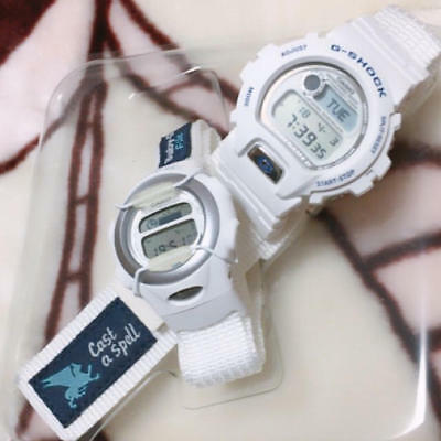 [Ltd.] Casio G-Shock Ref.Lov-97-3 Lovers Collection Pair white watches for sale
