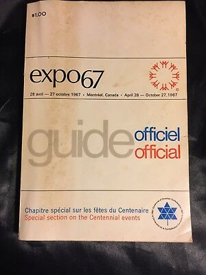 Expo67 Official Guide In French And English