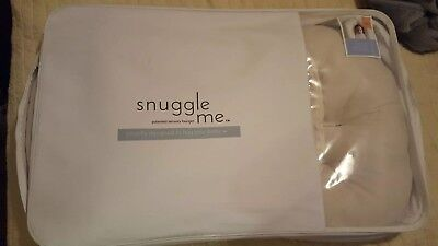 Snuggle Me Organic Co-sleep Baby Bed With Cover NEW