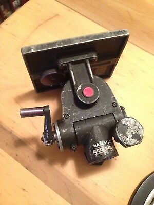 Majestic Model 1200 Geared Head for Camera Stand or Tripod 6x7 Plate