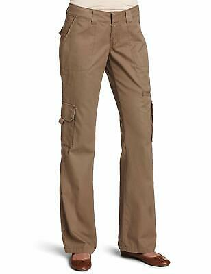 Dickies Women's Relaxed Fit Straight Leg Cargo Pant Fade & Wrinkle Resistant