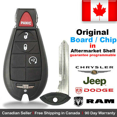 1x OEM New Replacement Keyless Entry Remote Key Fob For Chrysler Dodge Caravan