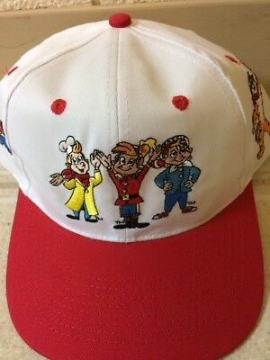 Kellogg's Cereal City USA Tony Tiger Snap Cracked Pop SnapBack Hat!
