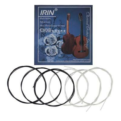 6PCS Classical Guitar Nylon String Acoustic Guitar Strings Set  Medium Tension