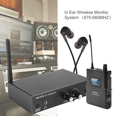 Wireless ANLEON S2 In-ear Monitor System UHF Stereo IEM System Stage Monitoring