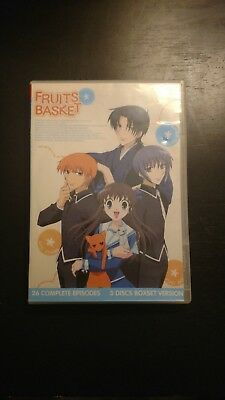 Fruits Basket The Complete Collection Classic Anime 1 26 DVD English Dub Subs