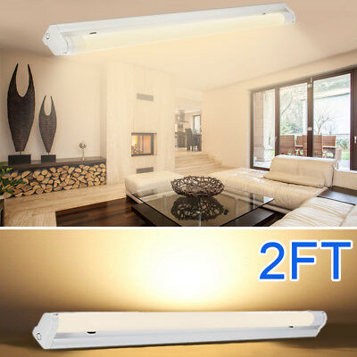 4 PACK T8 LED Shop Light 6500K Cool White Super Bright Utility Ceiling Fixture