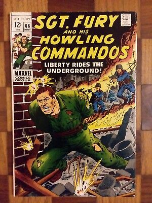 Sgt. Fury & His Howling Commandos #66 (1969) (Dick Ayers & J. Severin)