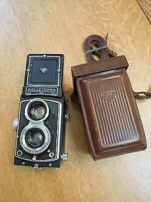 Rolleicord III Twin Lens Reflex camea with Xenar lens and case