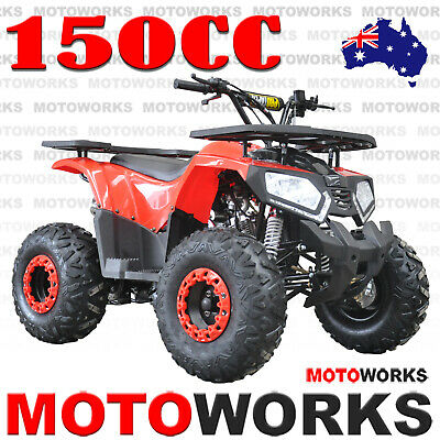 MOTOWORKS RAIDER 150CC ATV QUAD Dirt Bike Buggy Go Kart 4 Wheeler red