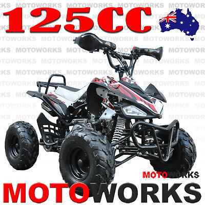 MOTOWORKS SPORTS 125CC ATV QUAD Bike Dirt Gokart 4 Wheeler Buggy org