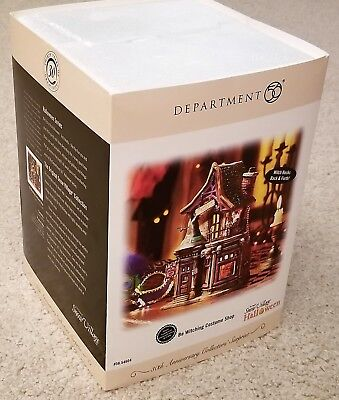 Dept 56 - Halloween - Be Witching Costume Shop - #56.54604 - New-In-Box